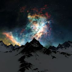 photography winter alaska sky trees night stars northern lights night sky starry colors outdoors forest colorful explosion milky way starry sky Astronomy aurora borealis nature landscape All Nature, Amazing Nature, It's Amazing, Amazing Ideas, Pretty Pictures, Cool Photos, Random Pictures, Free Pictures, Interesting Photos