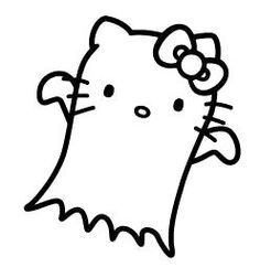 Evil Hello Kitty Coloring Pages – Coloring for every day Hello Kitty Colouring Pages, Skull Coloring Pages, Halloween Coloring Pages, Cartoon Coloring Pages, Coloring Book, Hello Kitty Art, Hello Kitty My Melody, Little Twin Stars, Cute Halloween Drawings