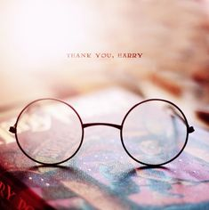 Thank you J.K. Rowling for one of the great reading experiences I've ever had, and Harry for being there when no one else was.