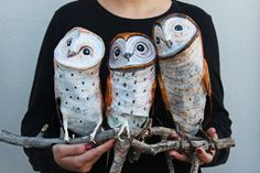 #papermache #papiermache #fauxtaxidermy #animalbust #paperart #papertaxidermy #papercraft #owl #owlsculpture #fowlovers #papersculpture #animalillustration #owlillustration