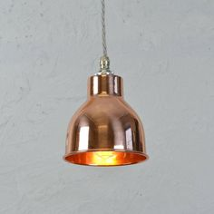 Copper Factory Pendant Light
