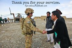 U.S. Army Capt. John Goodwill of 3rd Brigade Combat Team, 10th Mountain Division greets Afghan national locals during a transfer of ballot boxes on the Afghan air force Mi-17 helicopters at Forward Operating Base Rushmore, Paktika province, Afghanistan, March 29, 2014. The AAF were picking up election ballots to deliver to the Paktika districts of: Giyan, Nikea, and Zeruk. (U.S. Army photo by Pfc. Dixie Rae Liwanag. Used with permission.)
