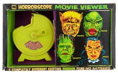 Horrorscope Movie Viewer - This was advertised in each issue of Famous Monsters of Filmland magazine
