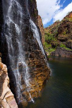 Twin Falls in Kakadu National Park, Northern Territory, Australia ~