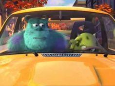▶ El coche nuevo de Mike (Corto Pixar) - YouTube