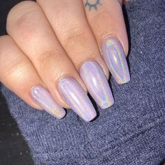 Glamour Chrome Nails Trends 2017 67