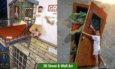 25 Mind-blowing and Realistic 3D street art works for you. |   http://myartmagazine.com/street-art-works | Art Magazine http://myartmagazine.com | Follow us www.pinterest.com/myartmagazine