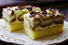 Nebeská Máňa Sweet Desserts, Sweet Recipes, Cake Recipes, Healthy Diet Recipes, Desert Recipes, Graham Crackers, Creative Food, Nutella, Sweet Tooth