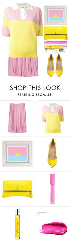"""""""Sugarbaby"""" by grozdana-v ❤ liked on Polyvore featuring MANGO, Jil Sander, Urban Outfitters, Gianvito Rossi, MOFE, Atelier Cologne and Urban Decay"""
