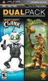 Gaming PSP - Daxter and Secret Agent Clank PSP UMD Dual Pack