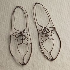 Wire Shoes - m.s. kids love working with wire