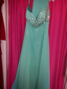 Prom dress new with rinstones. .199..(contact info hidden) all sizes