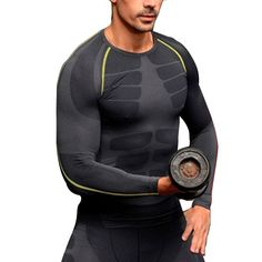 שכבת בסיס דחיסת הגברים חולצות חולצות שרוול ארוך סקיני הדוקים clothing m-xl
