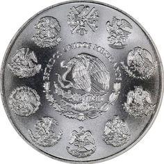 2002 Mexico Silver Libertad 1oz