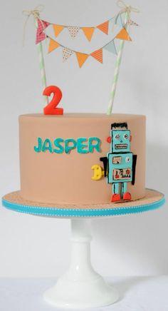 Sweet Sense Cakes Robot Cake