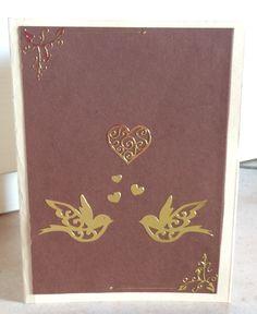 Card love or wedding