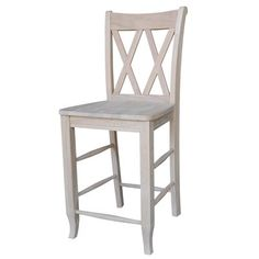 Seating Stools Unfinished Wood San Remo Stool Bar Height To 36 Inch) Bar Stools Kitch 30 Inch Bar Stools, Diy Bar Stools, Tall Stools, Dining Stools, Wooden Bar Stools, Kitchen Stools, Bar Chairs, Study Chairs, Pink Chairs
