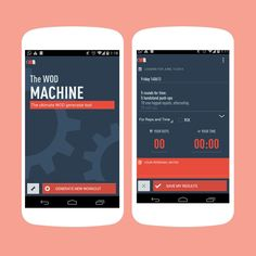 Keep track of your workouts with this app.
