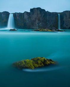 Cascada de los dioses Islandia.