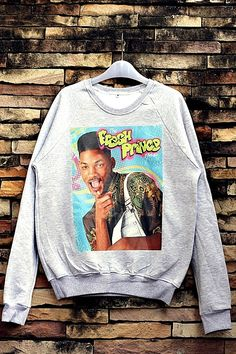9def4797568140 Fresh Prince Of Bel Air Will Smith Sweatshirt by OhhShhhShirt