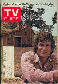 "December 7, 1974. Michael Landon of NBC's ""Little House on the Prairie."""