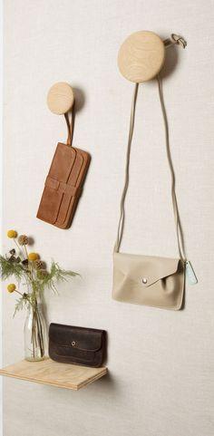 Keecie leather bags