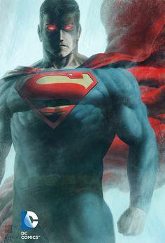 #Superman #Fan #Art. (Superman line art) By: Kris Anka & color Fabian Schlaga. [THANK U 4 PINNING!!]