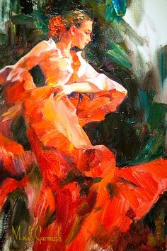 Crimson Flamenco - Michael and Inessa Garmash