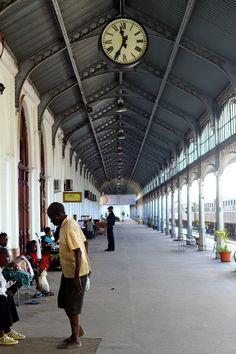 Train station Maputo, Train Station, Street View