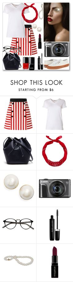 """""""Pin Up Girl..."""" by detroitgurlxo ❤ liked on Polyvore featuring Dolce&Gabbana, T By Alexander Wang, Lacoste, Kate Spade, Marc Jacobs and Smashbox"""