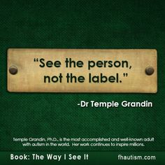Quote from Temple Grandin - People first