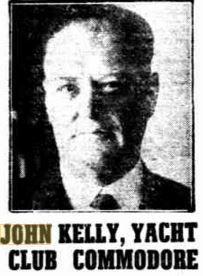 1947 John Kelly, formed Maryborough Sailing Club in 1928