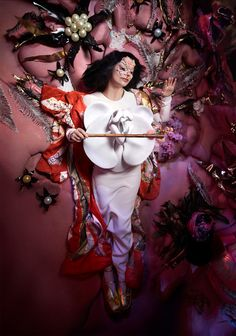 by bjork / Björk: utopia music video - coming tomorrow. Music Pics, Music Videos, The Northman, Divas, Art Textile, Tim Walker, Fashion Killa, Oeuvre D'art, Musical