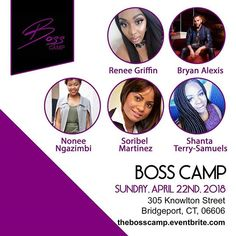 Im so excited to be a part of this fantastic event this coming Sunday hosted by @yuslendysuriel entrepreneur and boss babe behind @pinkandprettyhair and @madison_lashes! If you are in the Tori-state area this event is certainly worthwhile! Hope to see you there! #bosscamp #branding101 #brandingdesign #girlbosslife #bossbabe #ctblogger
