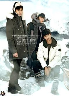 Ken, Ravi, N ♡ #VIXX // The Celebrity Magazine January 2014 Issue