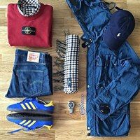 Walsh Casual Football Casual Clothing, Football Casuals, Football Fashion, Mode Masculine, Trendy Outfits, Men's Outfits, Fashion Outfits, Adidas Classic Shoes, Casual Wear