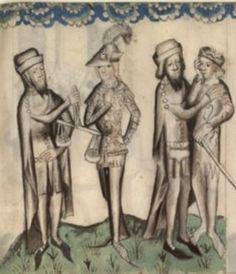 Latin 511 fol 15 Parabole du fils prodigue