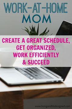 Being able to Work from Home as a Stay at Home Mom is a total juggling act. These ideas will definitely come in handy as I create a better work schedule for me and juggling responsibilities as a Mom.