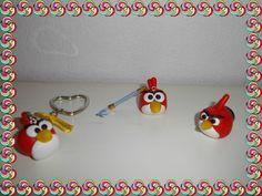 #angrybirds #polymerclay #fimo #cernit #crafts #handmade