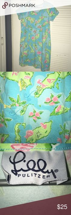 Lilly Pulitzer Island Dress EUC like new size L Lilly Pulitzer Island Dress EUC like new size L Lilly Pulitzer Dresses