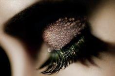 The key is always fake eyelashes