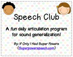 """Winter Speech Club! 3 months of quick daily articulation activities for """"r, s/z, th"""" to work on carry-over and generalization of skills. How fun! $"""