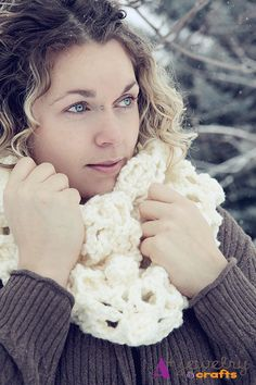 Chilly White Winter is nipping at your nose by Sharie Reetz on Etsy