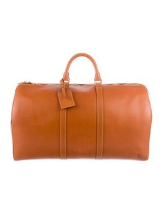 Louis Vuitton Nomade Leather Keepall 50