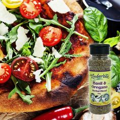 Make meals marvelous with this natural food seasoning that works with almost any dish, particularly yummy with tomato or pasta dishes. Aromatic Herbs, Gourmet Gifts, Garlic Salt, Italian Dishes, Salad Dressing, Caprese Salad, Pasta Dishes, Basil, Herbalism