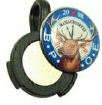 "Lucky Golf Ball Marker Hat Clip (3/4"" Domed Marker)"