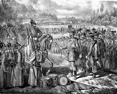 Magyar honvédtiszt átadja a kardját az oroszoknak World Conflicts, Army, Europe, History, Revolution, Painting, Hungary, France, Italy