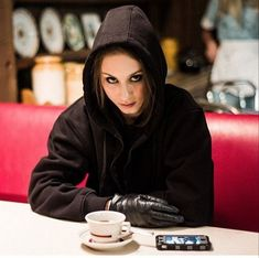 I think Spencer looks freaking badass in this look  xxx