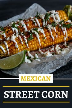 This is a FAN FAVORITE!!!! If you've never had authentic Mexican street corn, then this is your next best bet!! So good, and a fun summer time side!