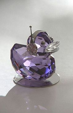 crystal duck